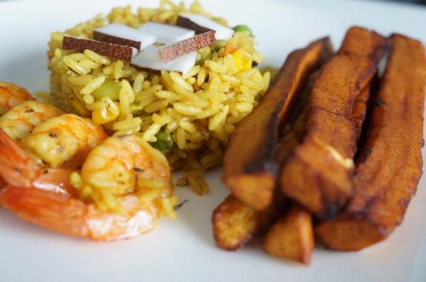 Nigerian Coconut rice _9jafoodie1