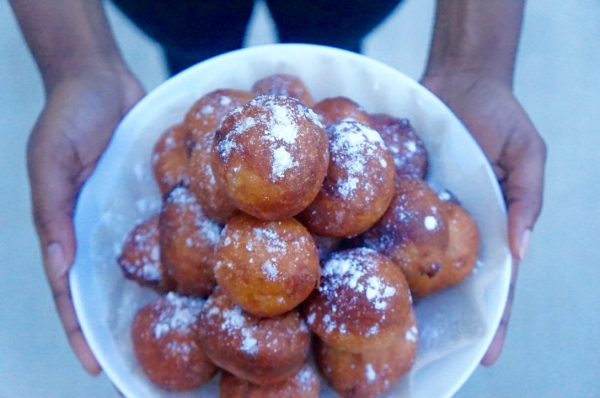puff puff - Nigerian - street - food - dough - fried - ghana - bofrot - recipe - simple - easy - best