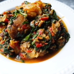 Efo ( Spinach Stew)