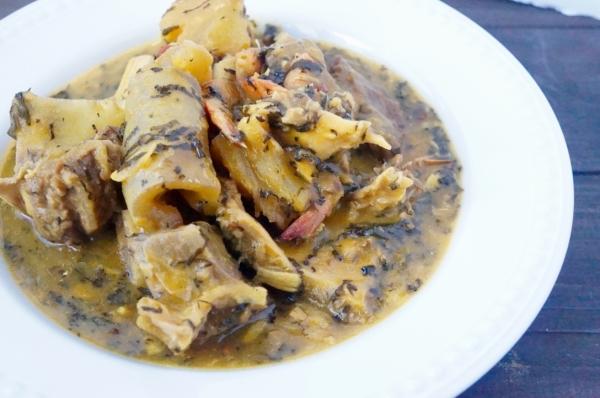 Onugbu - bitterleaf - Soup - ibo - igbo - Nigerian - ewuro
