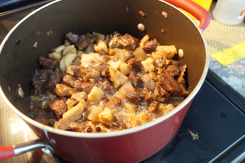 Ayamase ofada stew 5