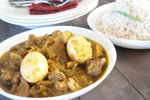 Ofada Rice Ayamase Nigerian Food