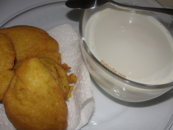 Akara - ogi - from - scratch - corn - meal - Nigerian - yoruba - food