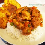 Chicken Suya On Rice