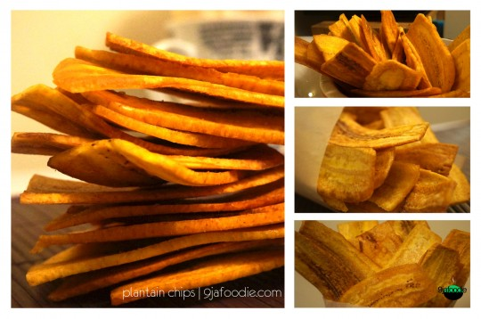 plantain - chip - home made - unripe - ripe - nigeria n - easy - recipe - how - green - baked  - crispy - perfect - healthy
