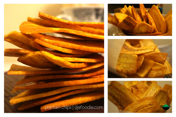 nigerian - plantain - recip - home made- chips