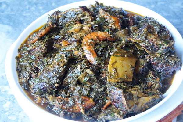 utazi - leaf - Afang - soup - vegetable - ibibio - soup - efic - nigerian - soup - how - recipe - best - sweet - traditional - local