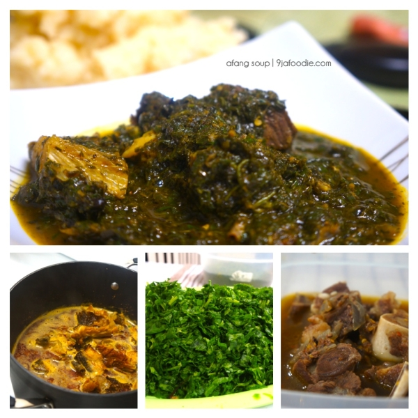 Afang - SOUP - Nigerian - food - 9jafoodie - best - utazi - delicious - recipe - 9jafoodie