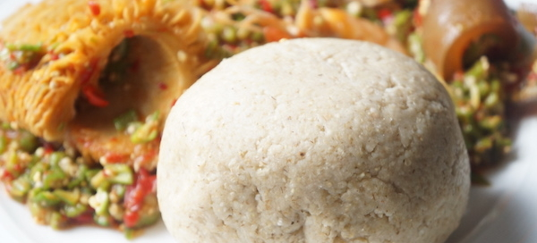 Oat - fufu - swallow - okele - Naija - healthy - weight loss