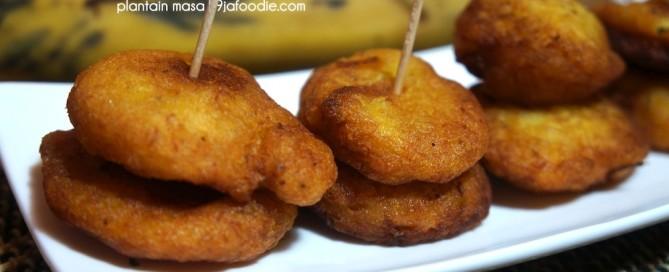 masa - ghanian - tatale -snack