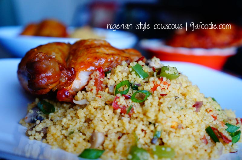 Nigerian Style CousCous_