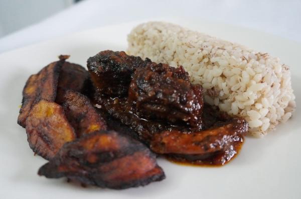 ofada - rice - nigerian - cuisine - modern