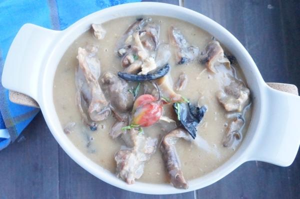 Afia Efere - White - soup - Nigeria