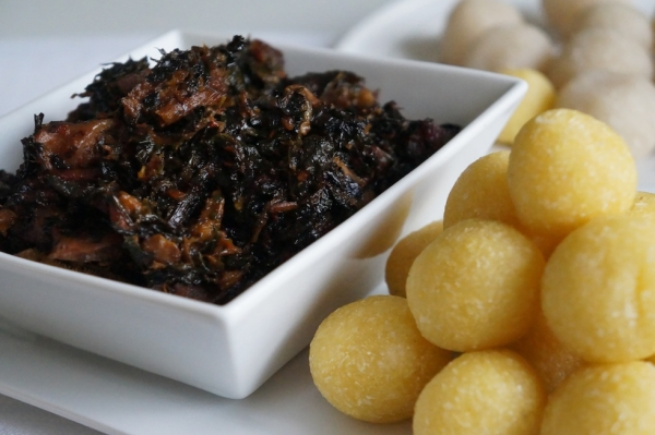 efo - elewuro - eba - garri - balls