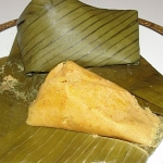 Moi Moi Elewe (moimoi in banana leaves)