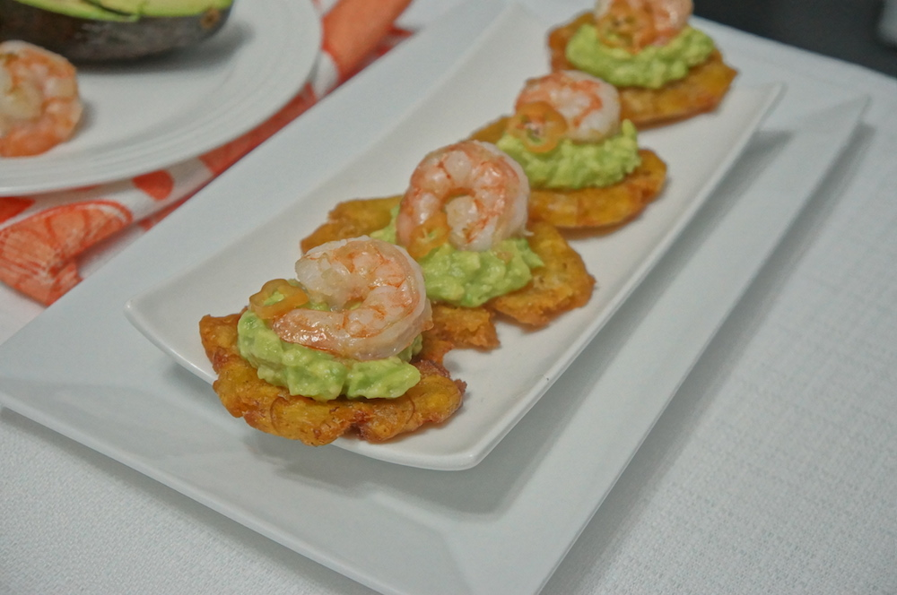 Plantain and Avocado pear Appetizer