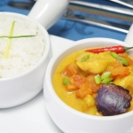 Spicy Coconut Fish Curry
