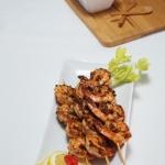 Spicy Coconut Suya Prawns