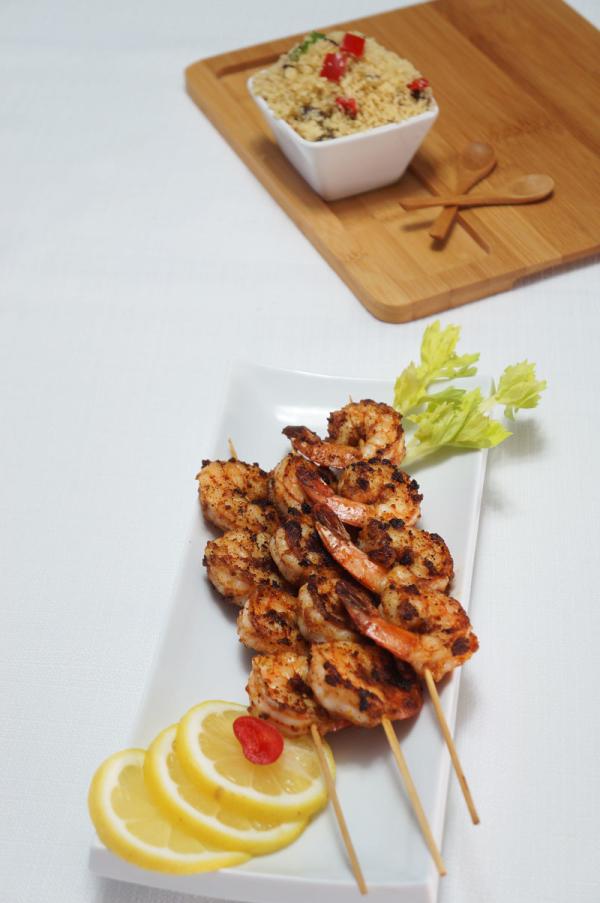 Prawn - shrimp - suya - recipe - nigerian - quick - meal - hausa - 9jafoodie - naijafoodieSuya_