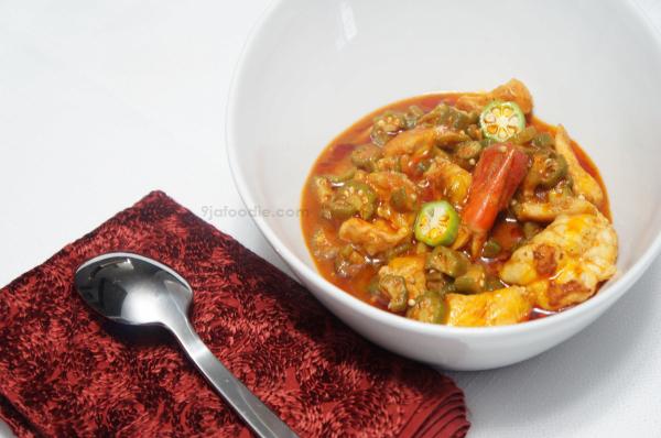 Okro Soup_Stewed_Nigerian_9jafoodie