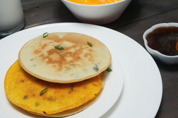 Pan - fried - Akara - recipe - pancakes - nigeria - healthy - easy