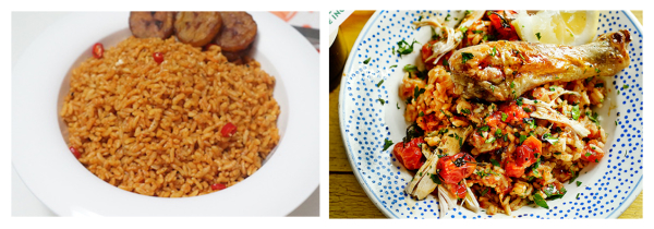 Jollof - jaime - oliver - traditional - vs - west - africa - recipe