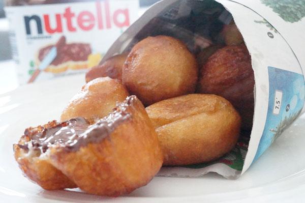 puff-puff-nutella - Nigerian - snack -