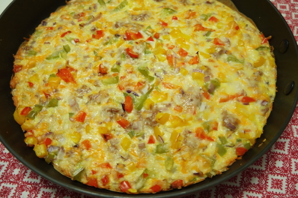 Nigerian - Yam - Pizza -One - pot - Eggs - 9jafoodie - naijafoodie - food - sweet potatoes