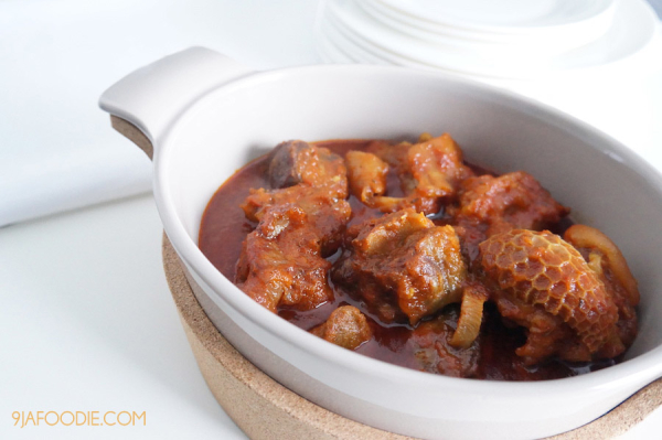Nigerian Stew - west African red stew- Recipe - Tomato stew - 9jafoodie - Recipe