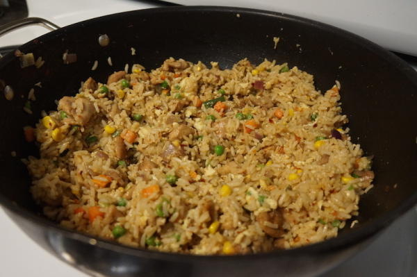 The chinese fried rice that never was