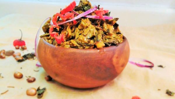 Isi ewu - Ugba - Nigerian - Food - Recipe - 9jafoodie - Igbo -Ibo -Nma - golden - Taste