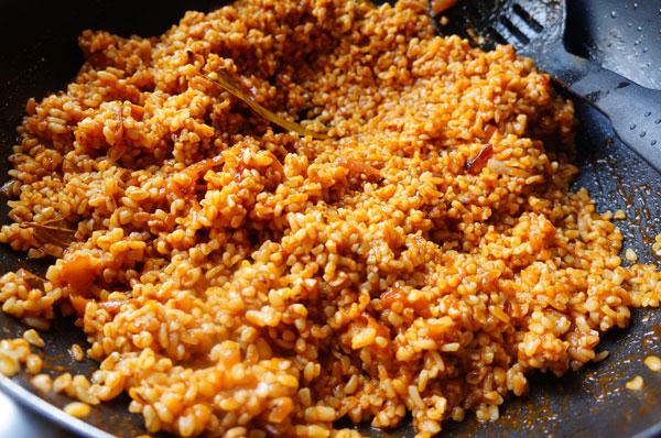 cooking - bulgur - jollof - african - Nigeira