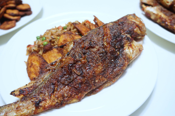 Grilled croaker fish for Croaker fish recipe