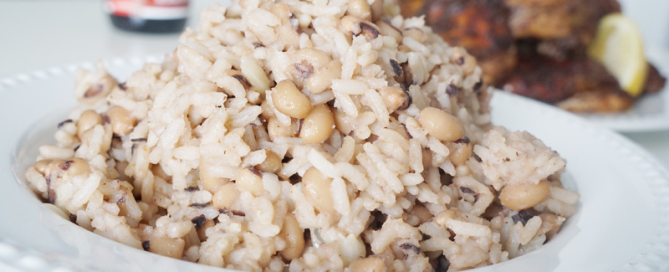 coconut - cream - rice - beans - black - eyed - beans - recipe - cowpeas - african - nigerian - easy - simple