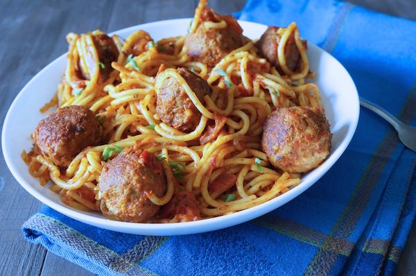 Spaghetti - meatballs - 9jafoodie - naijafoodie - recipe - easy - nigerian - food - yoruba - hausa - ibo - igbo - efirin