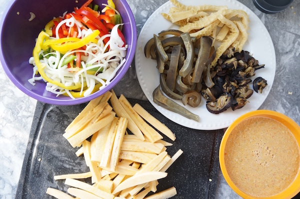 Nigerian - Stir - fry - suya - snail - plantain - ponmo - shaki -9jafoodie - naijafoodie - original