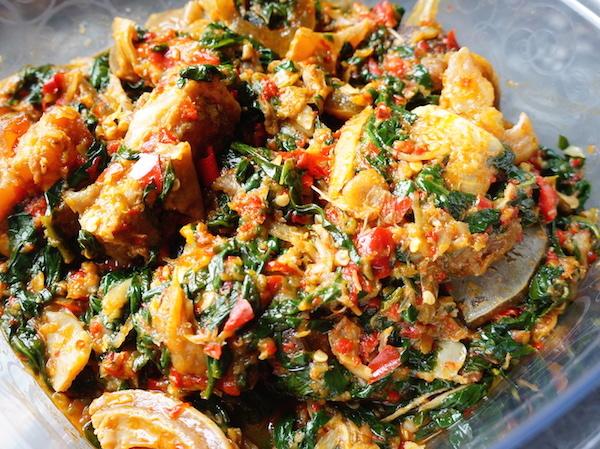 oil-less - oil - free - efo - riro - Nigerian - soup