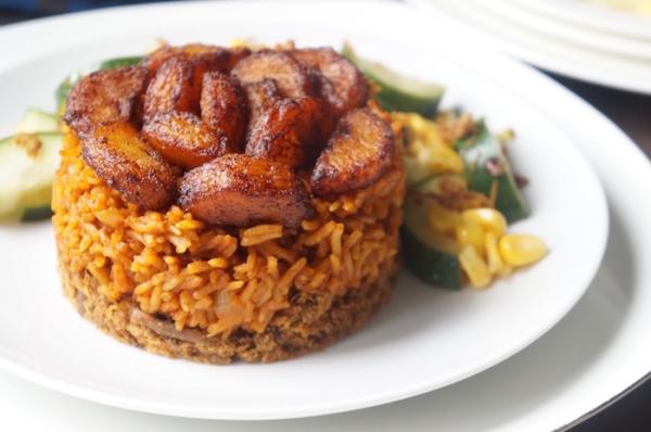 Jollof- dambu - danbu - nama - plantain - dodo - nigeria - ghana - recipe - best