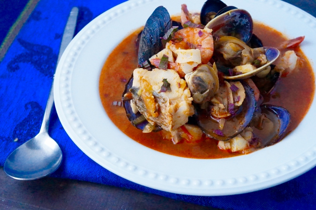 Spicy Seafood (Fisherman) Stew
