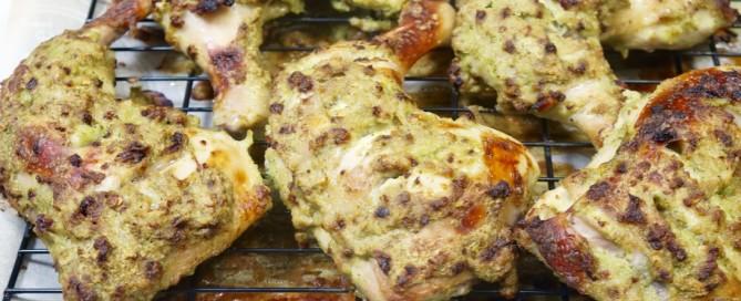 coriander, cilantro, chicken, marinade
