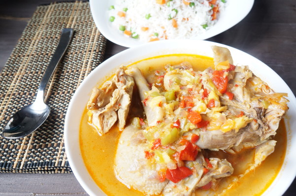 Nigerian chicken peppersoup