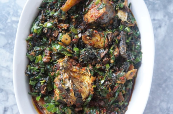 Nigerian vegetable soup