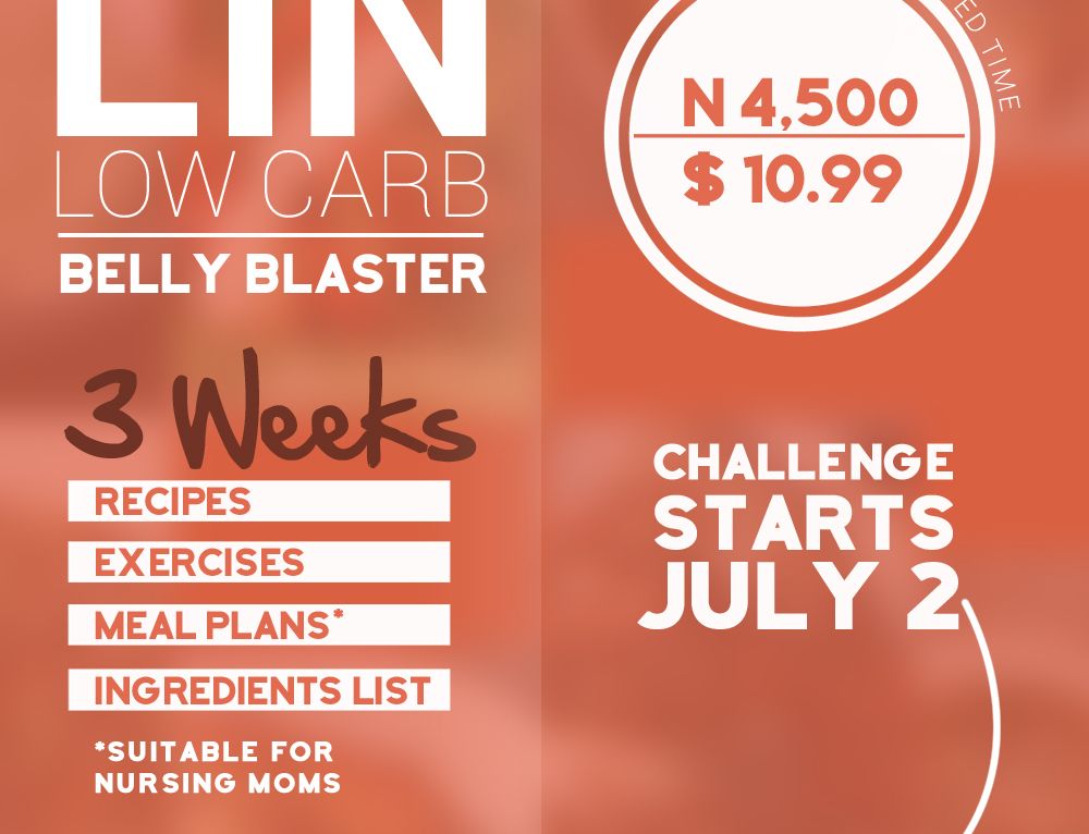 LIN Low Carb Belly Blaster