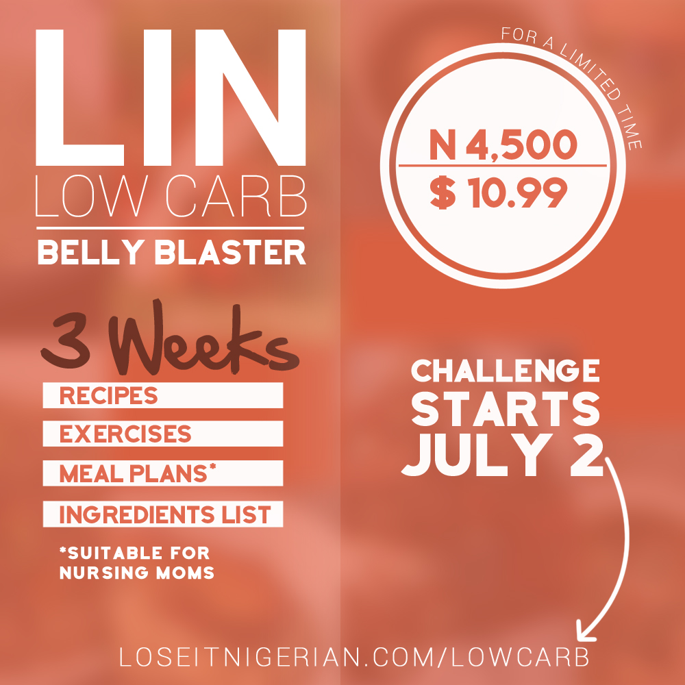 Lose It Nigerian Low Carb