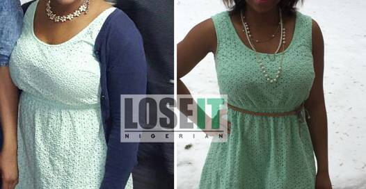 Nigerian weightloss before and after healthy loose
