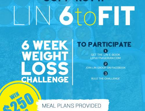 Nigerian Weightloss challenge – $250 USD Cash Prize for Winner