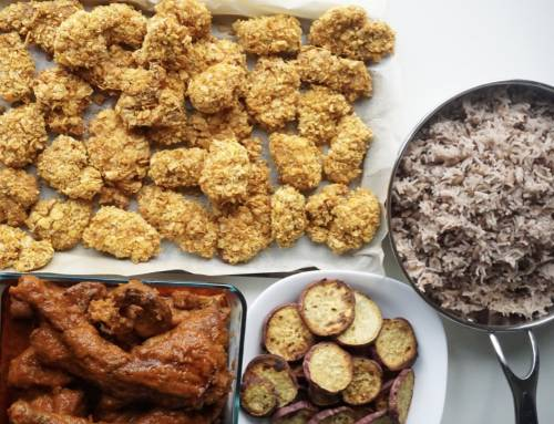 Suya Spiced Chicken Nuggets