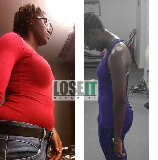 Nigerian - weight - loss - before - after
