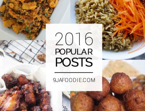 Top Posts – 2016