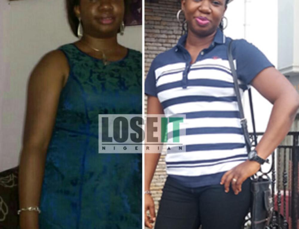 Omotola's Nigerian Weightloss Success Story